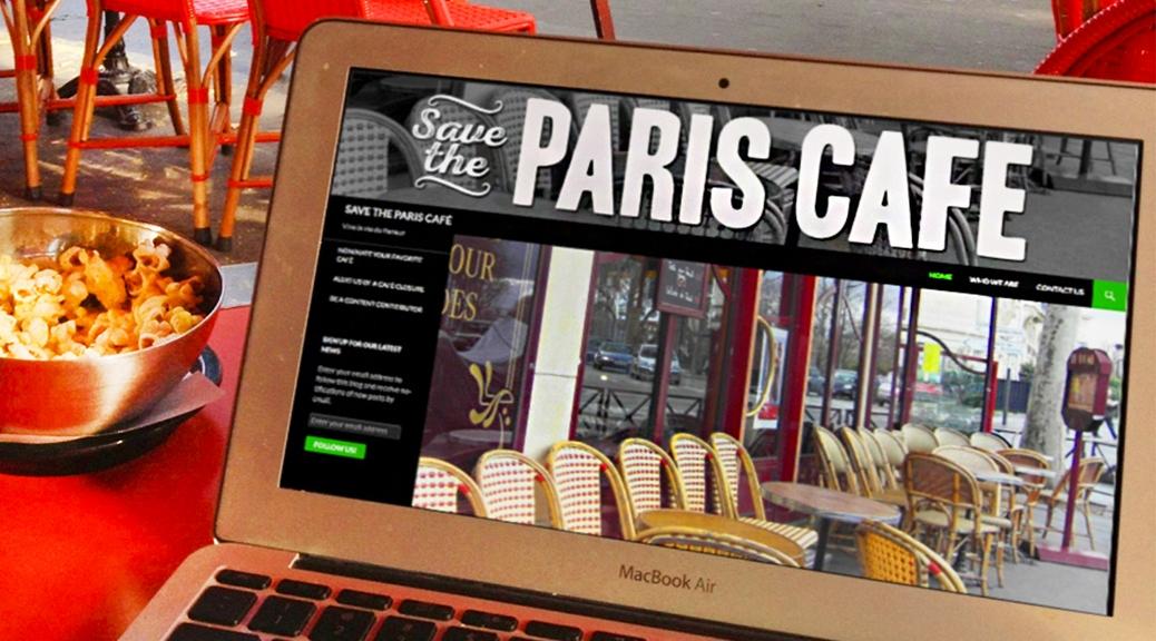 Be a Content Contributor | SAVE THE PARIS CAFÉ