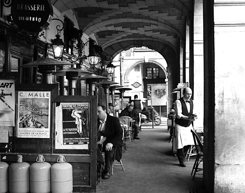 Travel Photography Save The Paris Cafe